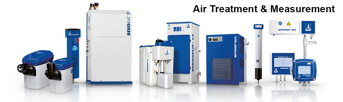 Air treatment & measurement for optimal air quality